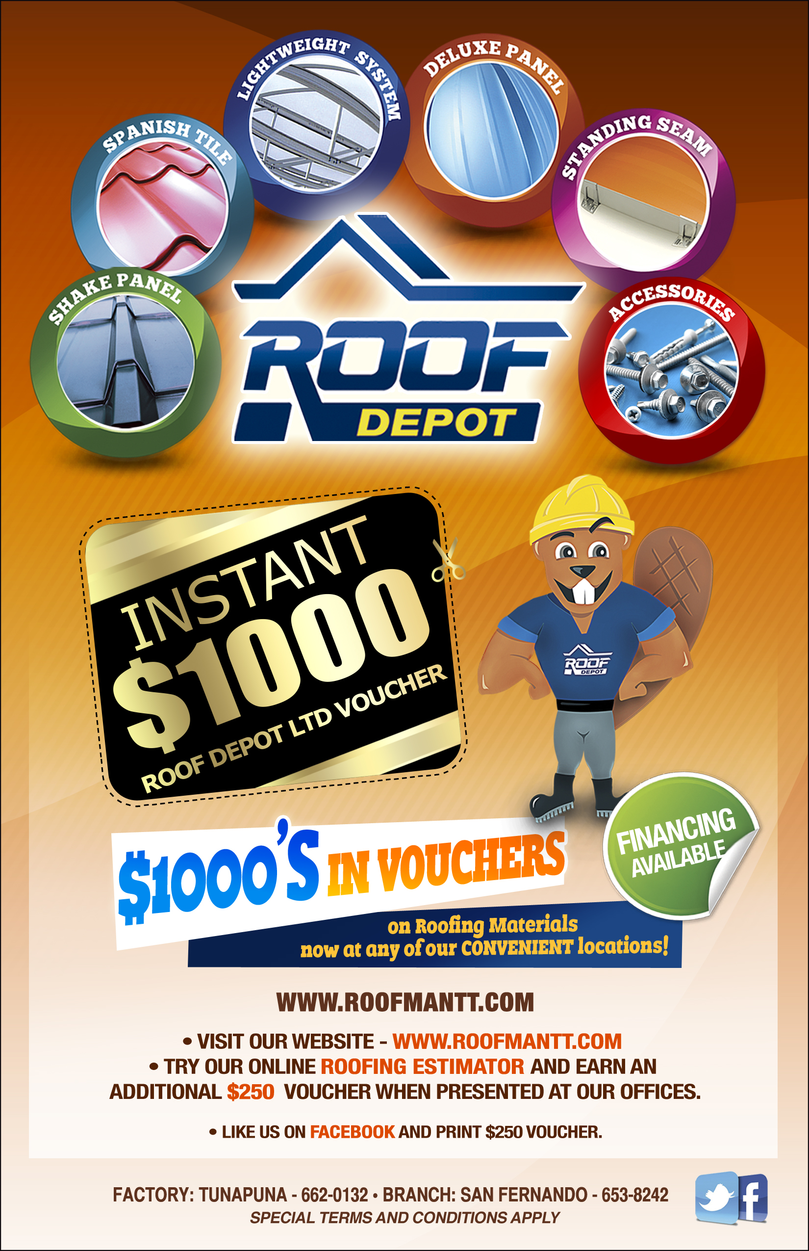 What's New - Residential, Commercial   Roofman LTD
